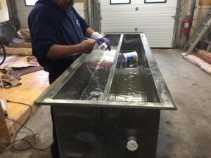 Ultrasonic Window Blinds Cleaning