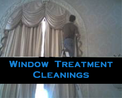 Window Treatment Cleanings